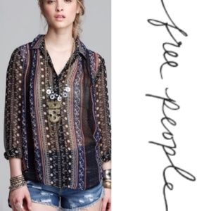 Free People Dreamy Moments Tunic